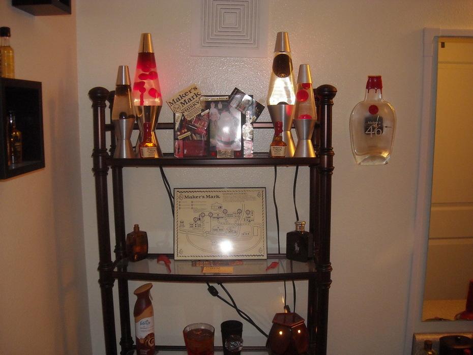 Bath Lava Shelf