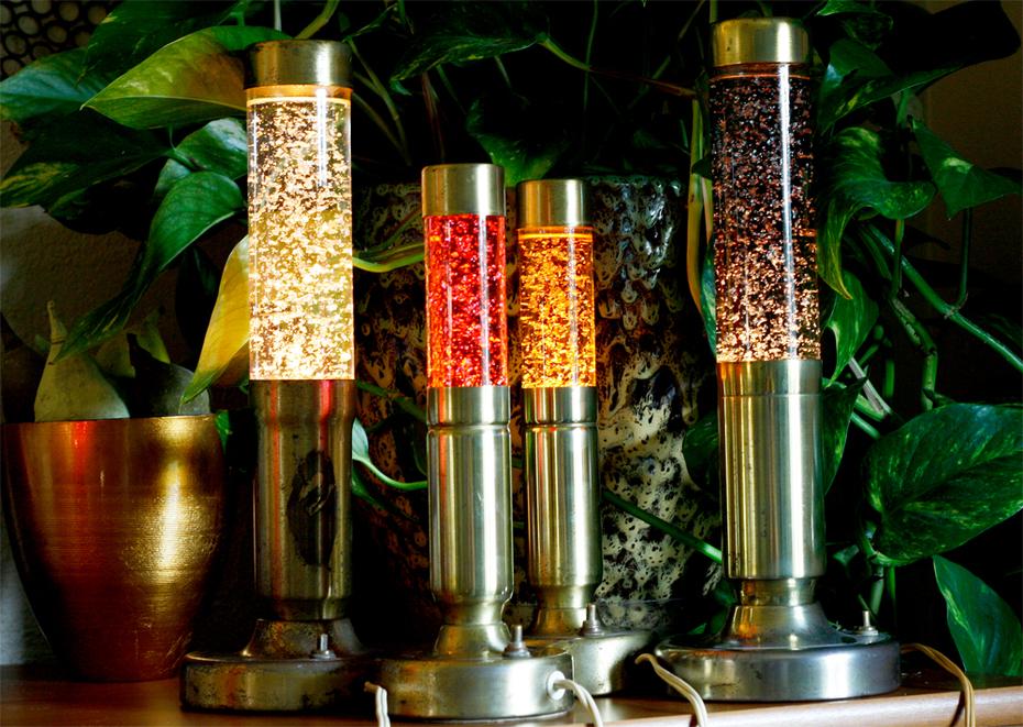 Florence Art glitter lamps