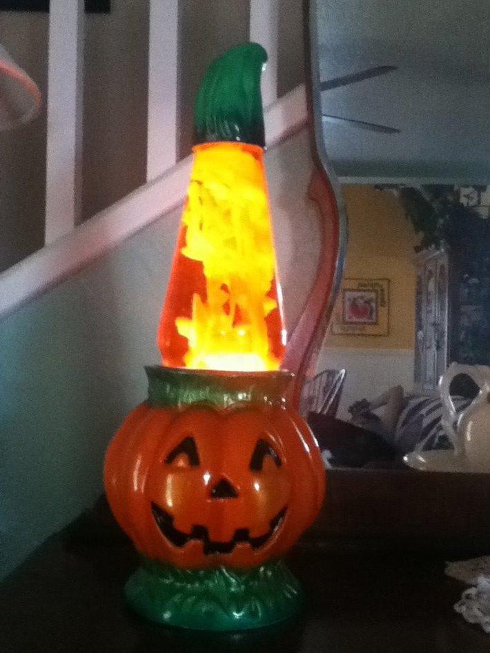 Pumpkin lava