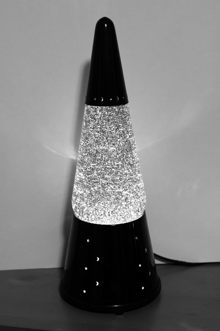 Kirk's Multi-Glitter formula - black and white
