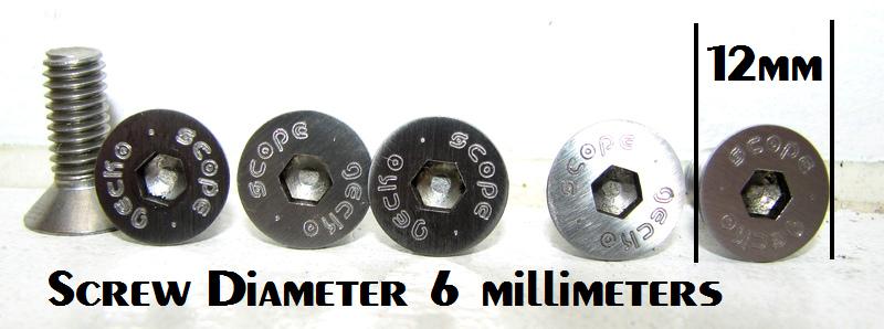 Wavemachine screw