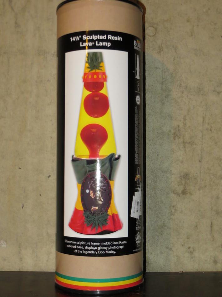 "Lot #37 - 14.5"" Bob Marley Sculpted Resin Lamp"
