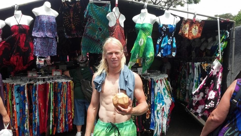 Hawaii flea market