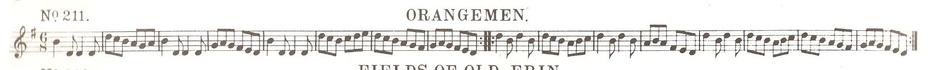 Orangemen - Notation