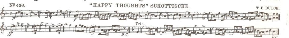"""""""Happy Thoughts"""" Schottische"""
