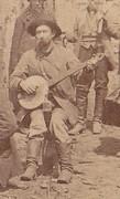 Banjo player, Leadville, Colorado 1870s