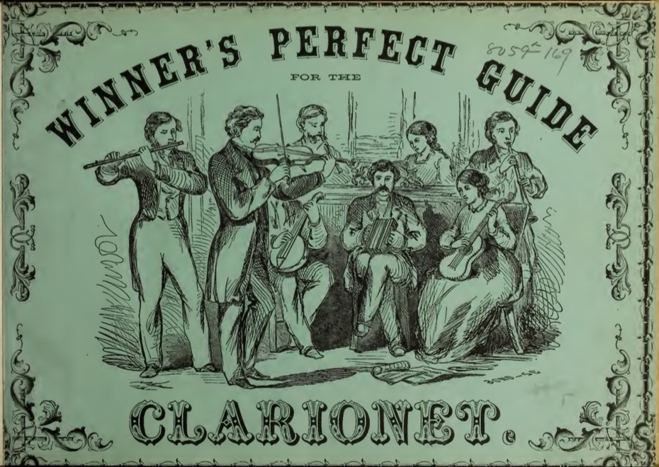 Winner's Perfect Guide Clairionet 1861