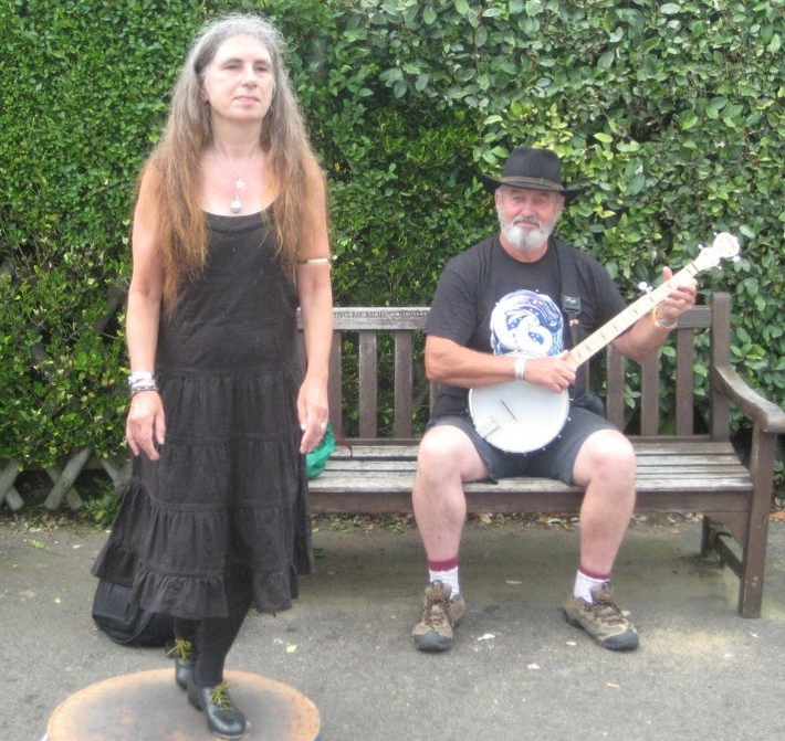 busking bstairs 2012