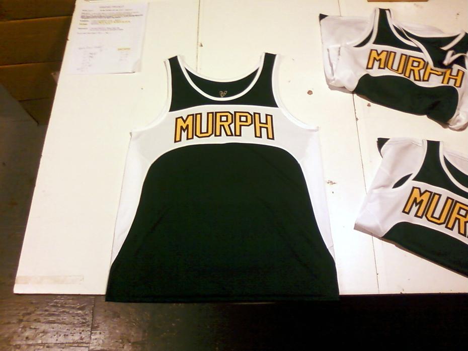 Custom Track Uniforms