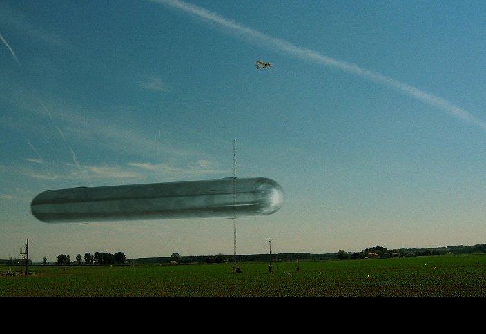 cylindrical  ufo