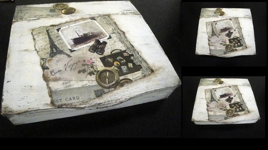 Ξυλινο κουτι εγγραφων