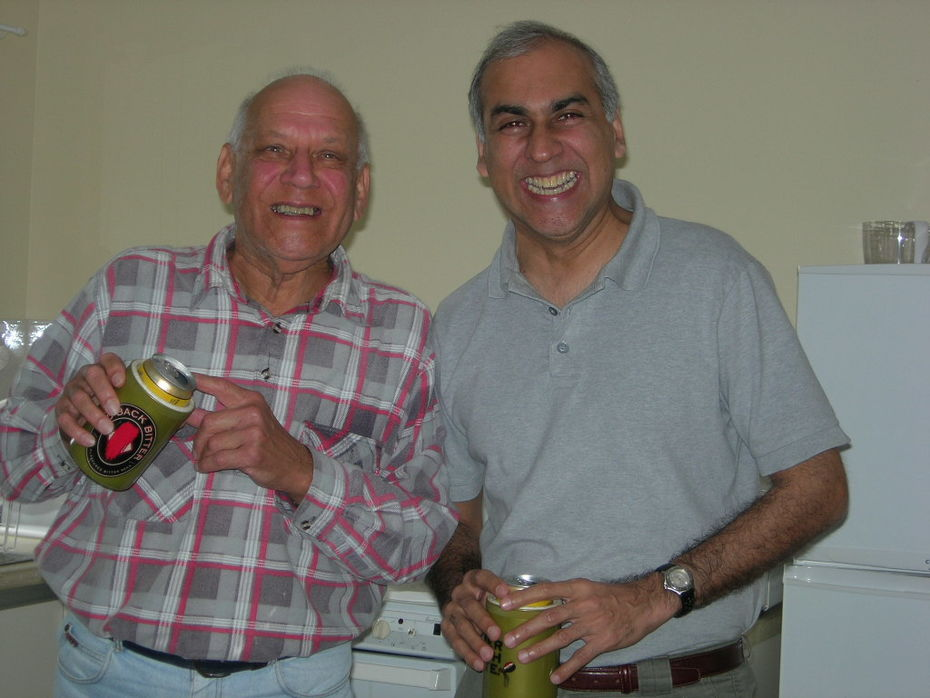 Ian and Ruchi