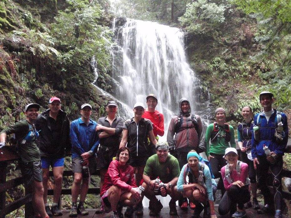 January Monthly Trail Run at Berry Creek Falls