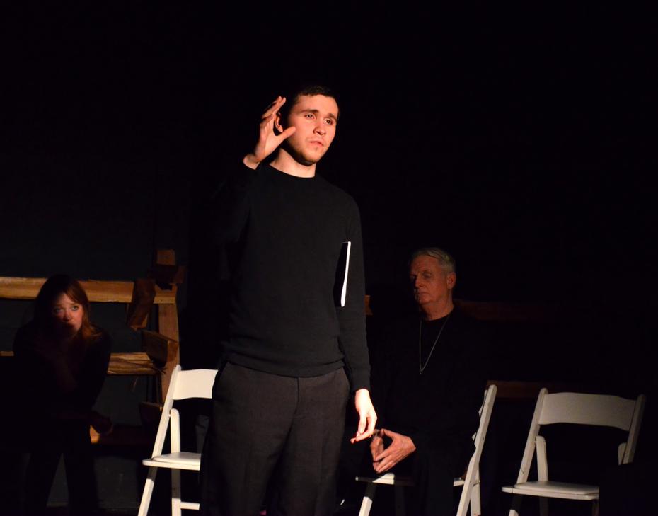 2014-04-05 The Laramie Project (242), Theatre Black Dog, Snoqualmie, WA