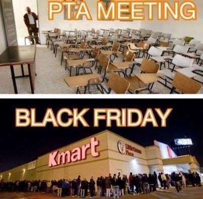 Black Friday vs. PTA
