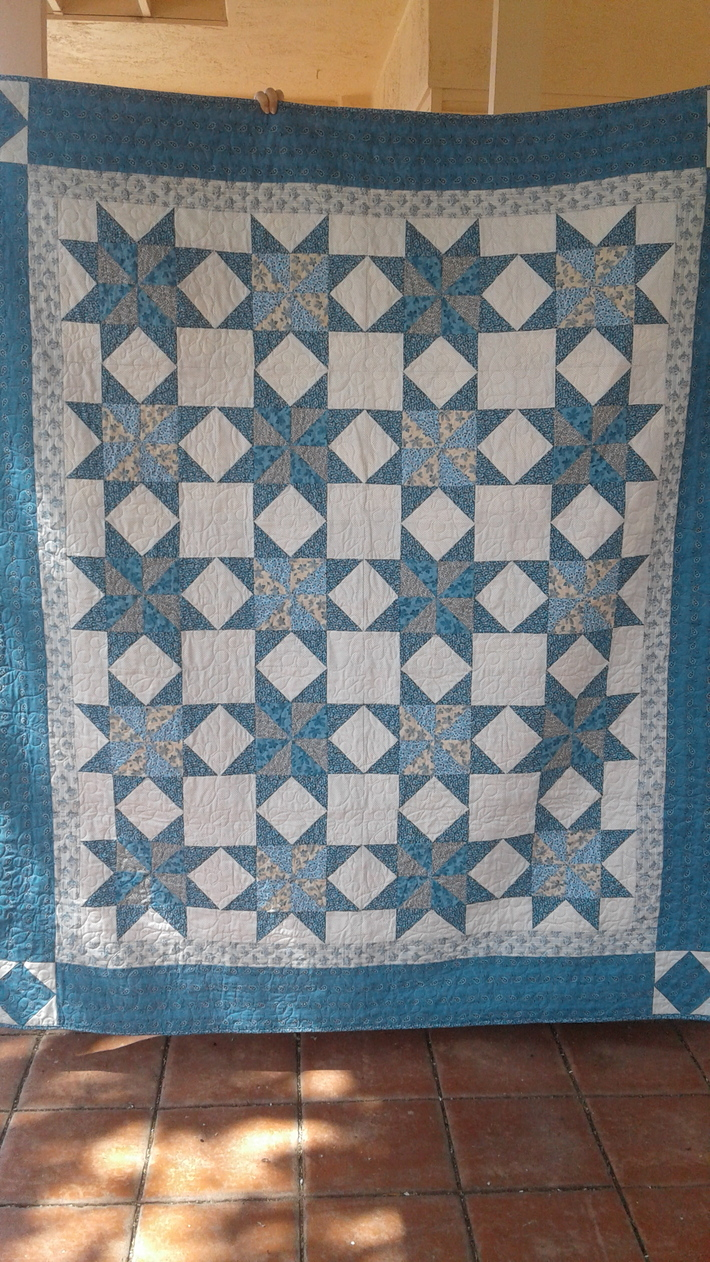 Barbara Fritchie Star Quilt