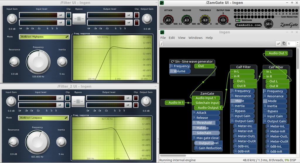 Remote Rig Audio over ip - using Zita-NJbridge -