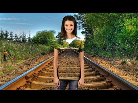 How to make clothes transparent in Photoshop cs6