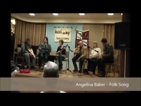 """Angelina Baker"" Daisy Hollow Band performing w/ Spring Creek Band 3/7/15"