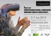 Computational Design and Fabrication workshop aided by Mixed Reality