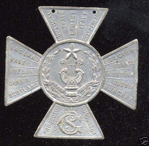 1872 World Jubilee Medal 2