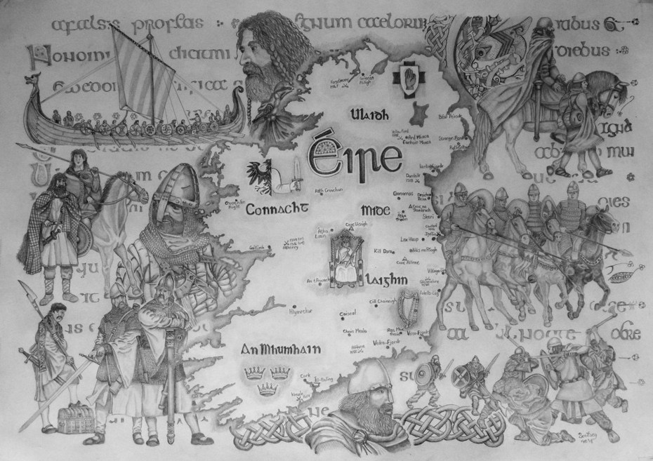 Ireland up to the early 1600's