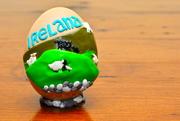 Irish Countryside Scene Egg