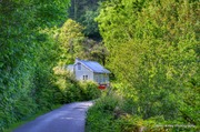 Cottage on the banks of Lough Hyne
