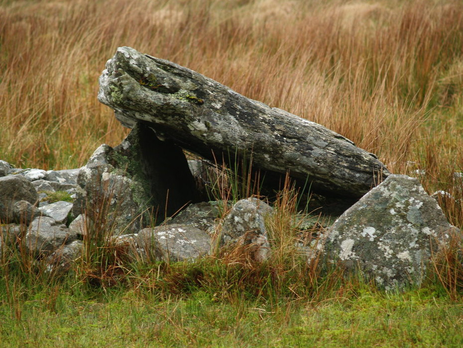 On the Cloghanmore Court Tomb  Trail