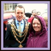 Waterford's Mayor & my friend Maureen Phelan