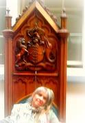 Janet Miller Bedford & Waterford museum chair