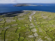 Aran Islands Aerial View