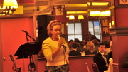 Ireland's Consul General Barbara Jones in NYC Greets the Audience at Terry Rooney's Party