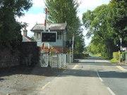 A railroad crossing in Ireland