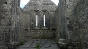 Inside Kilmacduagh Monastery