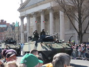 Easter 2016 parade Piranha with 30mm Oto Melara cannon