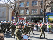 Easter 2016 parade Irish UN soldiers
