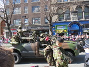 Easter 2016 parade Irish Army Ranger Wing personnel