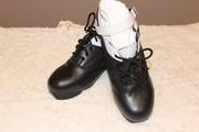 Extreme Hard Shoes with White Trim, $150.00