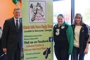 Shane Stephens, Irish Consulate General officially opening Irish Peach Imports!!