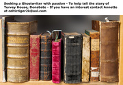 Seeking Ghost Writer for Book About Irish House