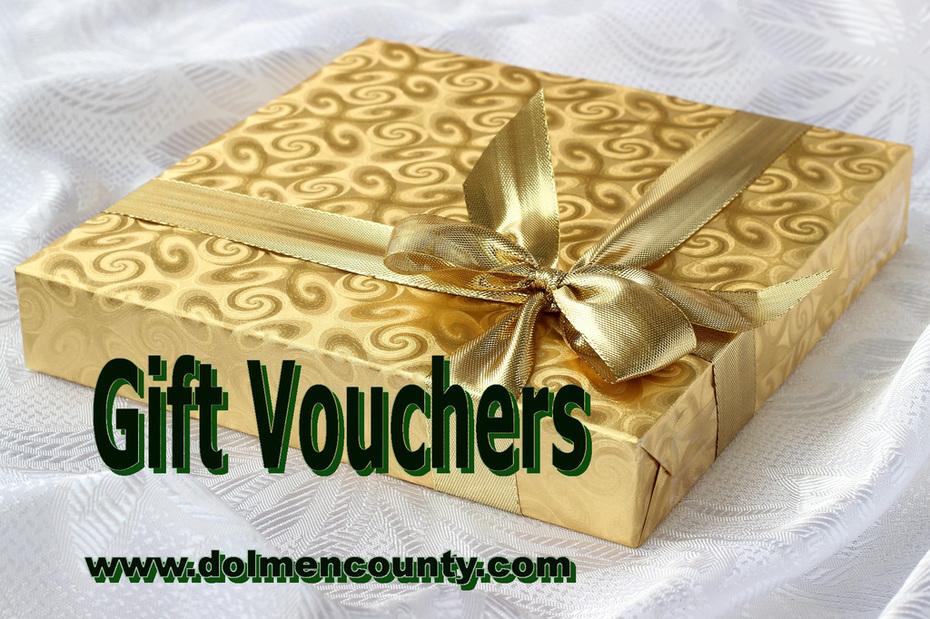 DolmenCounty.com - A Taste of Ireland - Gift Vouchers