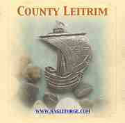 County Leitrim inspired Pewter Ship Brooch by Nagle Forge & Foundry