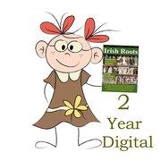 Two Year Digital Subscription To Irish Roots Magazine.