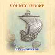 County Tyrone inspired Pewter Ship Brooch by Nagle Forge & Foundry