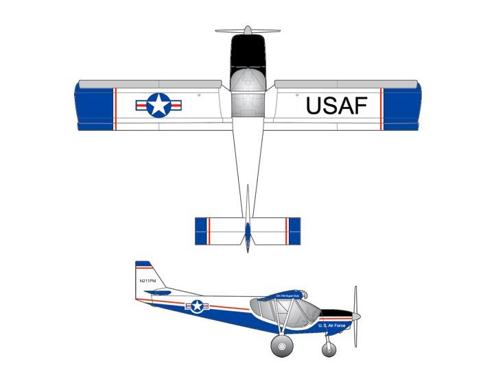 CH-750SD AF Paint Scheme