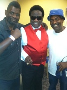 Buster Mathis jr., Al Green, and Donald