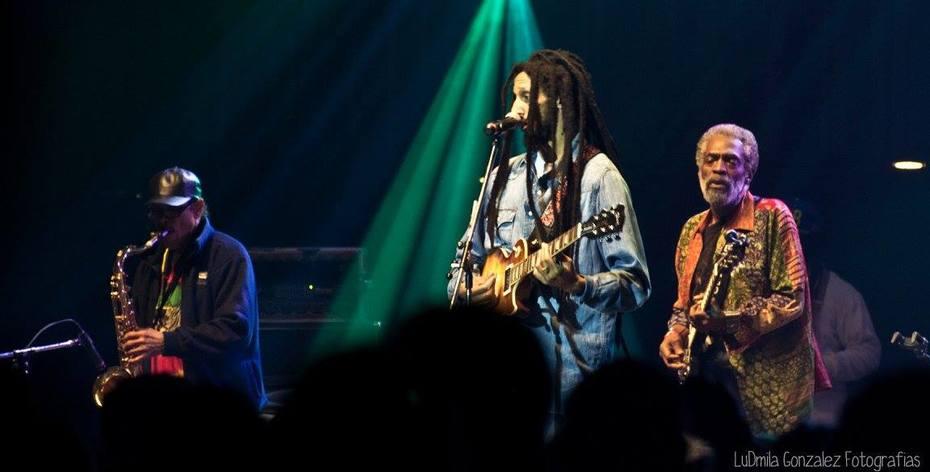 Donald Kinsey W/ Julian Marley & Wailers band tour