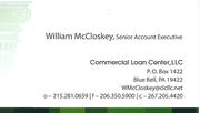 William CLC Business Card
