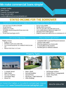 Stated Income flyer